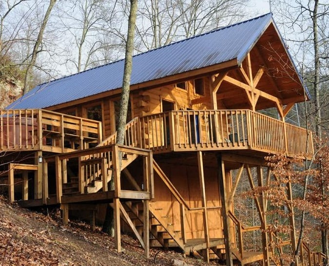 Where to stay in Red River Gorge, Slade & Natural Bridge